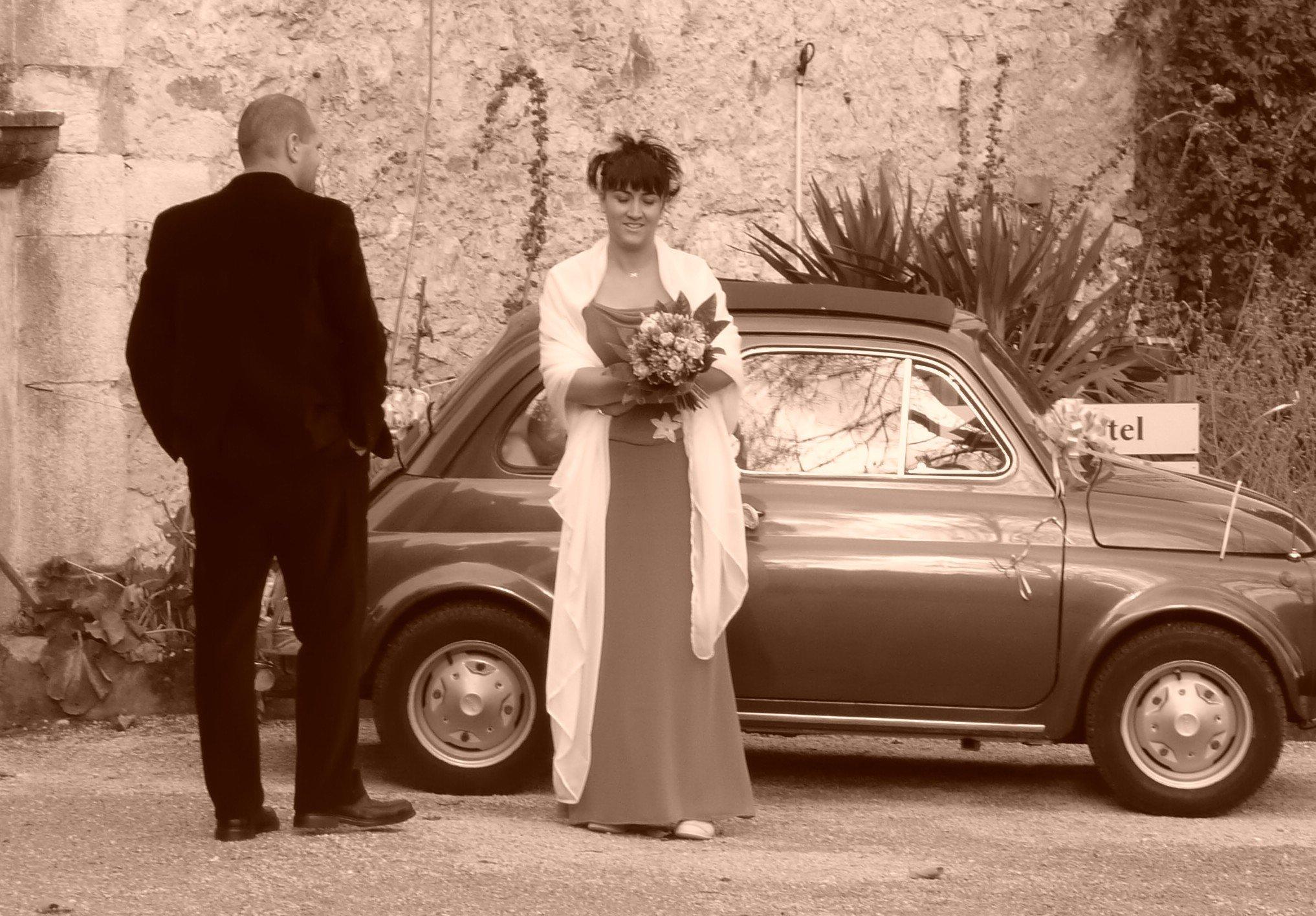 nous pouvons louer notre fiat 500 pour votre mariage ou autres ftes - Location Fiat 500 Mariage